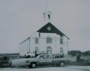 Travaux de rénovation dans les années 60